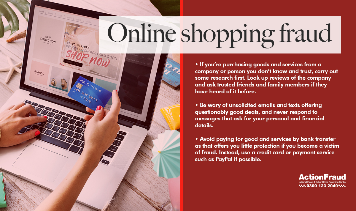 Online shopping fraud