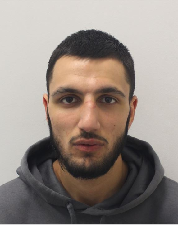 Pictured: Haaris Rana has been found guilty of murder