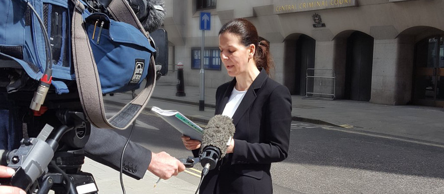 Female reporter - photo