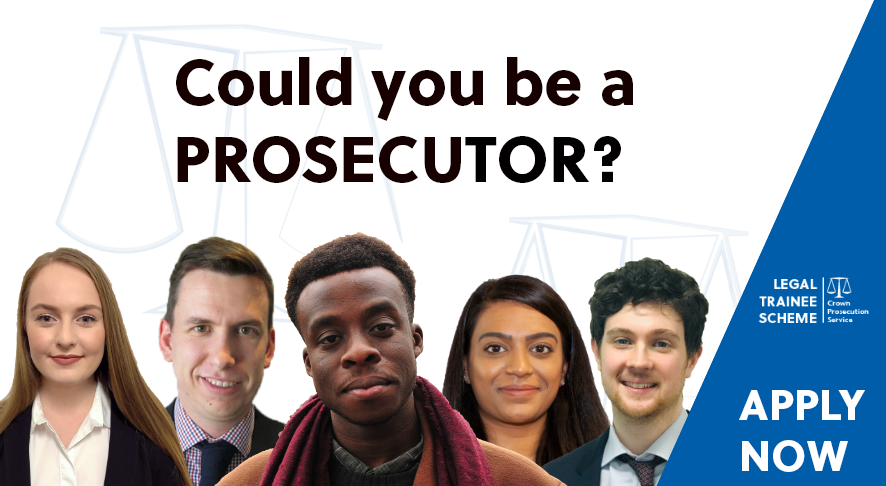 The 2019 CPS Legal Trainee Scheme - could you be a prosecutor?